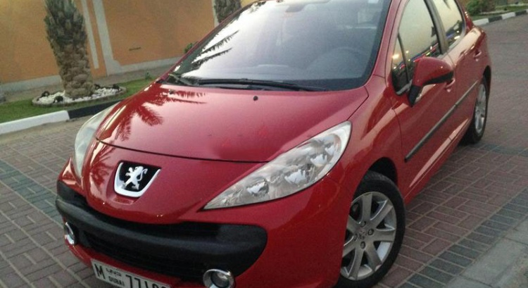 207 2009 Peugeot GCC Fully Serviced –  AED 16,000