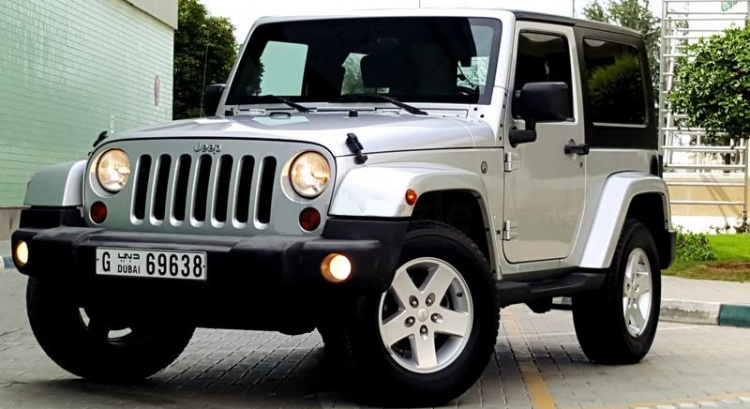 Wrangler Sahara Excellent condition AED 43,000