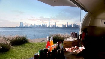 Breakfast with a view at The Terrace café