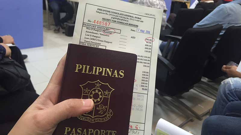 How to renew Philippine passport at Dubai consulate