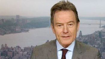 Bryan Cranston 'ideologically opposed' to Donald Trump