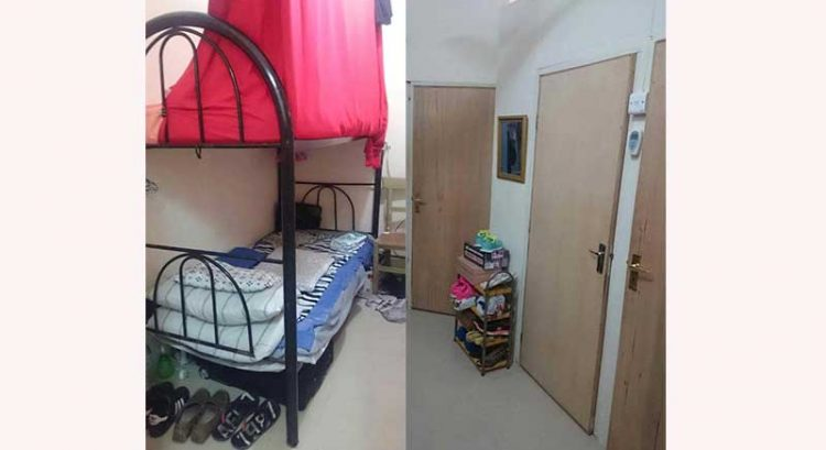 Partition available for rent