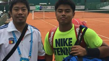 Filipino teen AJ Lim advances at French Open