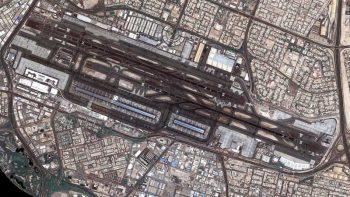 Look: Dubai International from space