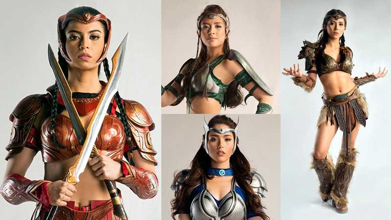 Glaiza De Castro As Heidi Outfit First look: Warrior co...