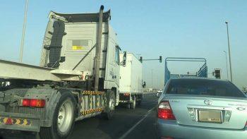 UAE mulls toll fees for heavy trucks on federal roads