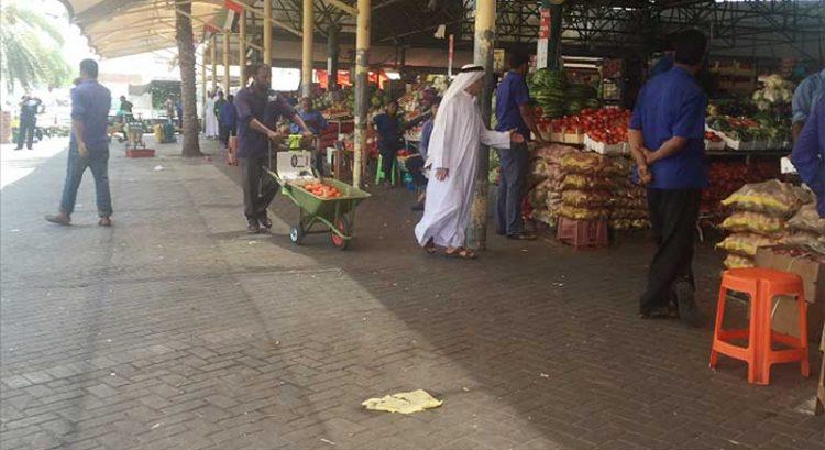 Bargain hunting at Fruit and Vegetable Market in Al Aweer