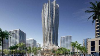 Flower shaped tower to rise in Qatar