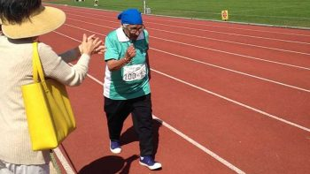 100-year-old runner wins gold in Americas Masters Games