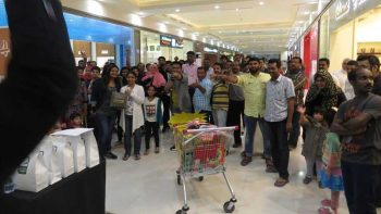 Sharjah mall offers grocery treats to shoppers
