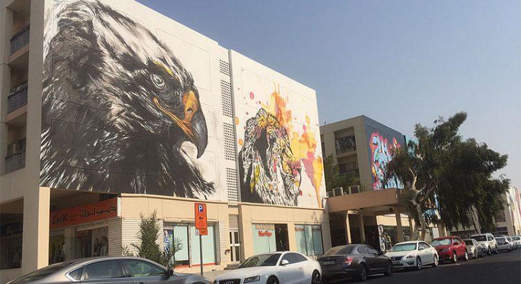 Karama Shopping Complex gets big splash of art