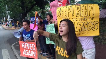 'Noise barrage' to call for justice for Martial Law victims
