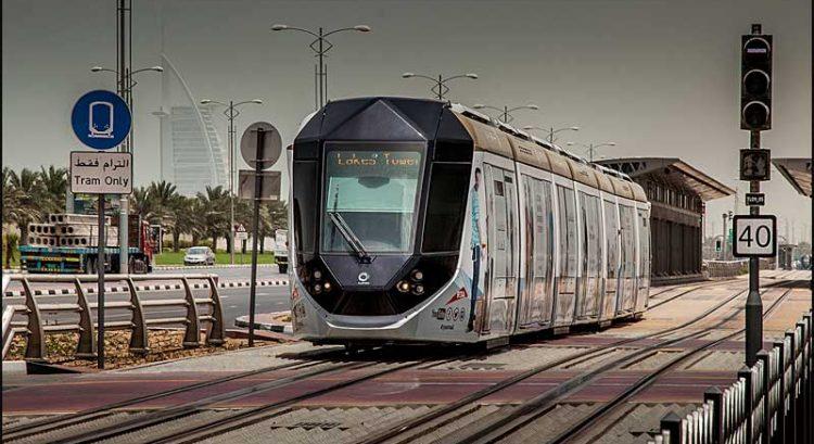 Dubai Tram and ferry resume services