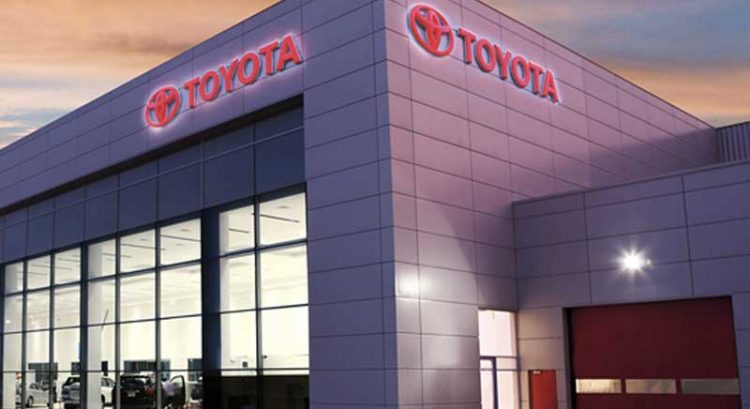 Toyota global sales drop 45% during pandemic