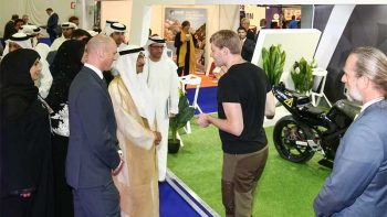 Catch world's fastest driverless motorcycle in Dubai