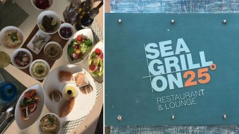 Review: Seagrill on 25's beach barbecue brunch