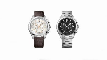 Watch news: Ebel launches new men's Wave chronograph models