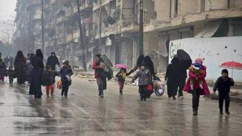 Trapped Aleppo residents send out heartwrenching goodbye messages
