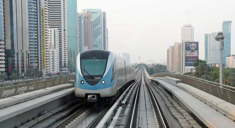 Dubai Metro to be partially closed until mid 2019
