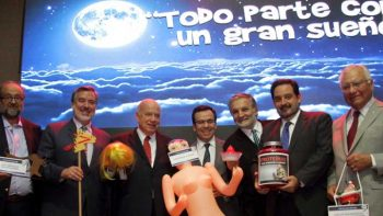Chileans slam sex doll gift to government official