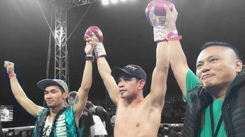Donaire victorious in boxing comeback
