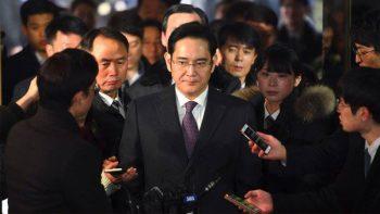 Samsung scion arrested in corruption scam