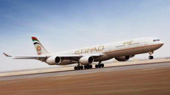 Etihad plane returns to Abu Dhabi after engine trouble