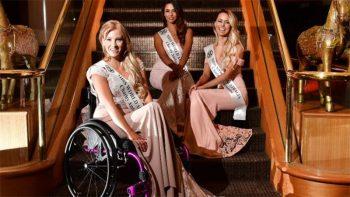 Wheelchair-bound woman vies for Miss World Australia