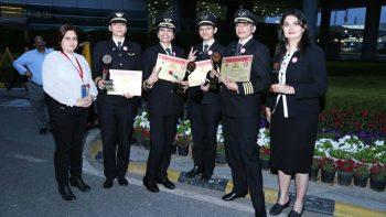 All-female Air India flight makes round-the-world trip