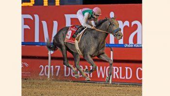 'Hollywood-type finish' as Arrogate wins Dubai Cup