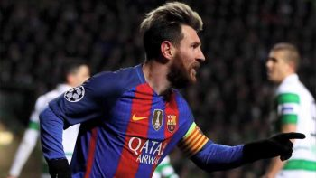 Lionel Messi suspended for 4 games over verbal abuse