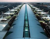 Flights diverted from Dubai International Airport