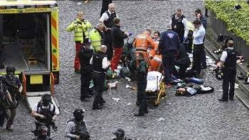 London terror attack: 4 killed, 40 wounded