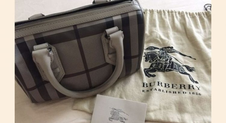 Pre-loved Burberry handbag for sale
