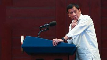 Philippines' Duterte says he once stabbed someone to death