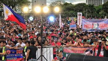 Pro-Duterte supporters stage rally, call for removal of Vice President