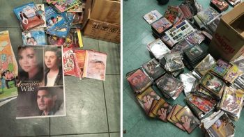 Crackdown on pirated DVDs of Filipino movies