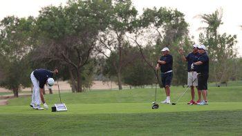 Steve Webster schools UAE golfers
