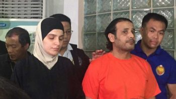2 alleged ISIS members caught in the Philippines