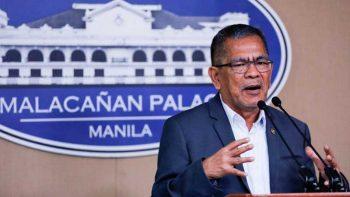 Philippine interior secretary sacked