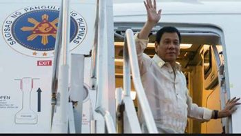 Duterte goes to Russia