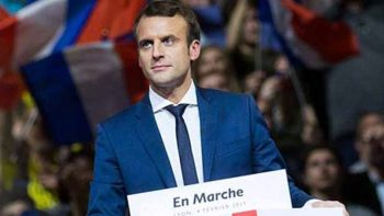 Macron's presidential campaign hacked, officials claim
