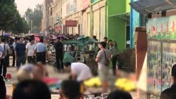 Explosion hits kindergarten school in China