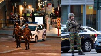 Terror attack on Belgian central station: Suspect killed