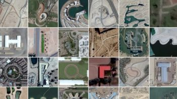 Watch: Finding letters A to Z in Dubai from space