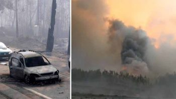 61 dead, 54 injured in Portugal wildfire