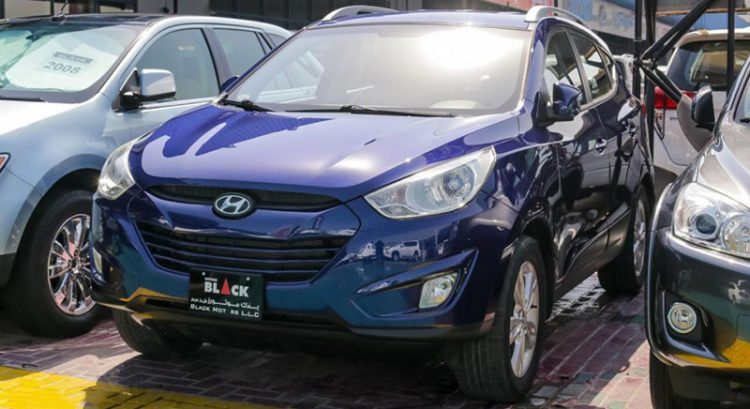 Hyundai Tucson 4WD for sale
