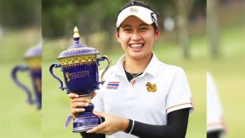 Thai golfer is the world's youngest female golf champion