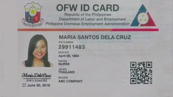 iDOLE OFW ID: what you need to know