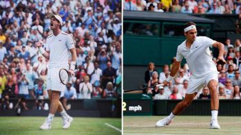 Wimbledon players slip, complain about grass quality in court